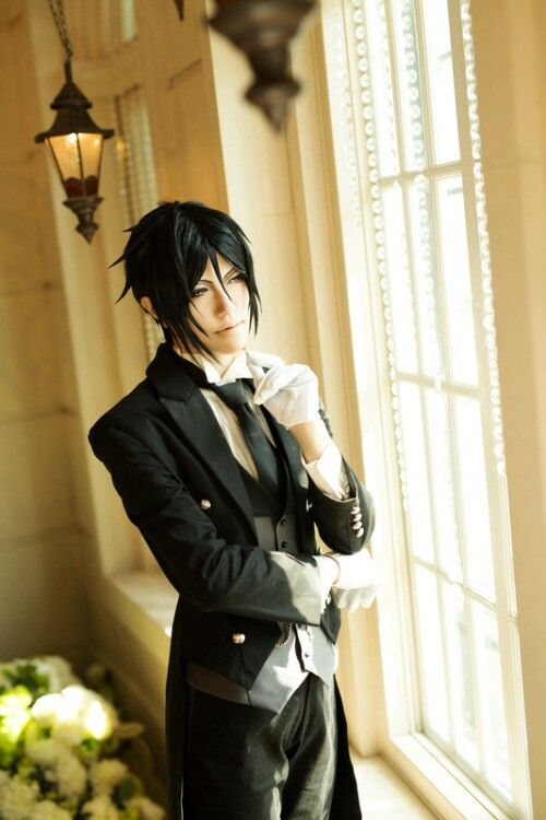 Kuroshitsuji#black butler#cosplay#sebastian