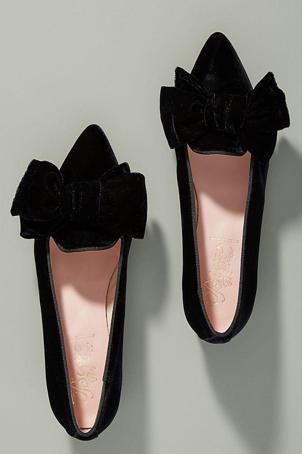 6d3befe2c9f5 Slide View  2  Bisue Ballerinas Velvet Loafers