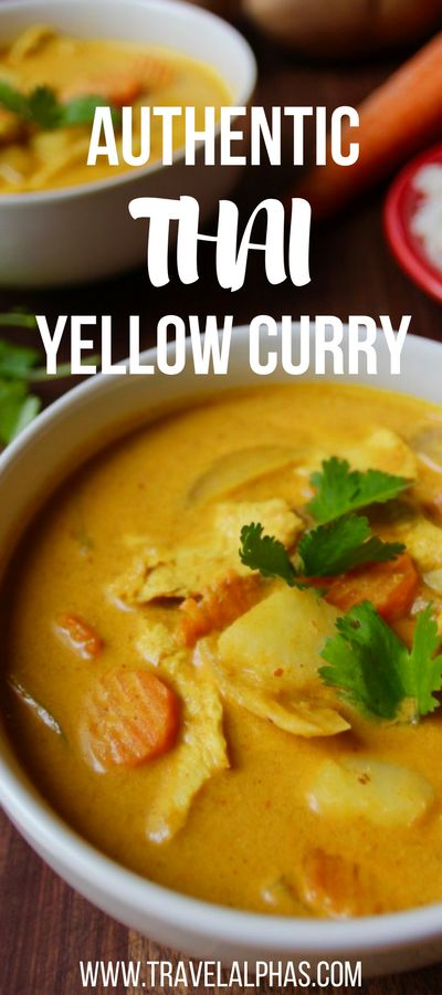 Making this authentic Thai yellow curry recipe is like taking a trip to Thailand, but without the jet lag and the expensive plane ticket. This Thai yellow curry is creamy, spicy, and healthy. And if you don't have all the ingredients, don't worry! This recipe is very versatile, so you can add in whatever vegetables and proteins you have on hand. Seriously, this stuff is the real deal. It's authentic, absolutely delicious & now that you've seen this recipe, it's something you can't live…