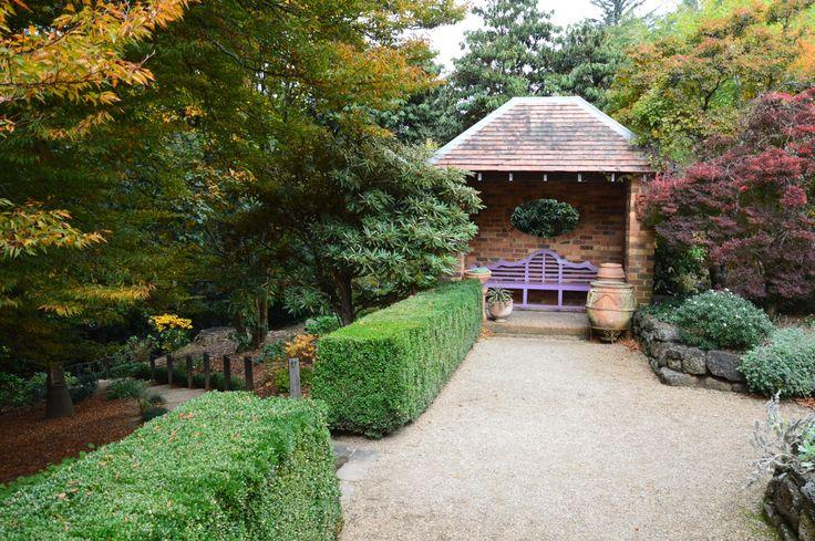 The summer house. Cloud Hill Gardens.