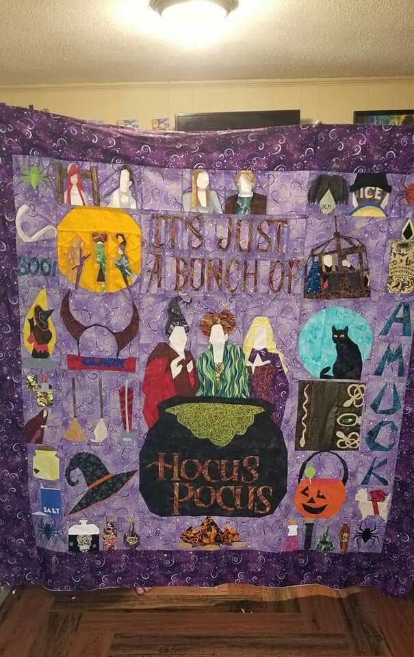 Pin by Quiltedpatches * on Hocus Pocus quilt