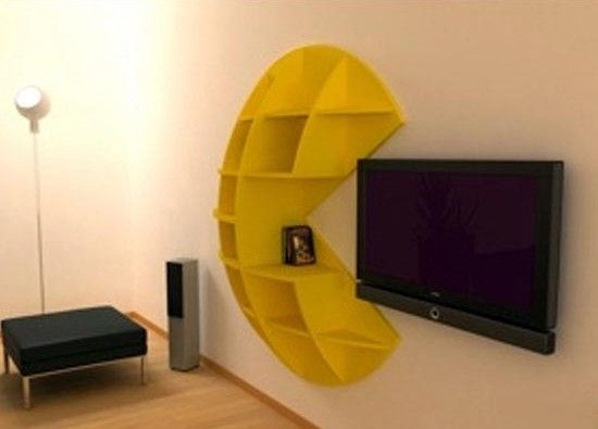Pac-Man! Good game room idea.  Not for me but for my son and his family!