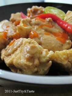 Just Try & Taste: Membuat Batagor: Bakso Tahu Goreng
