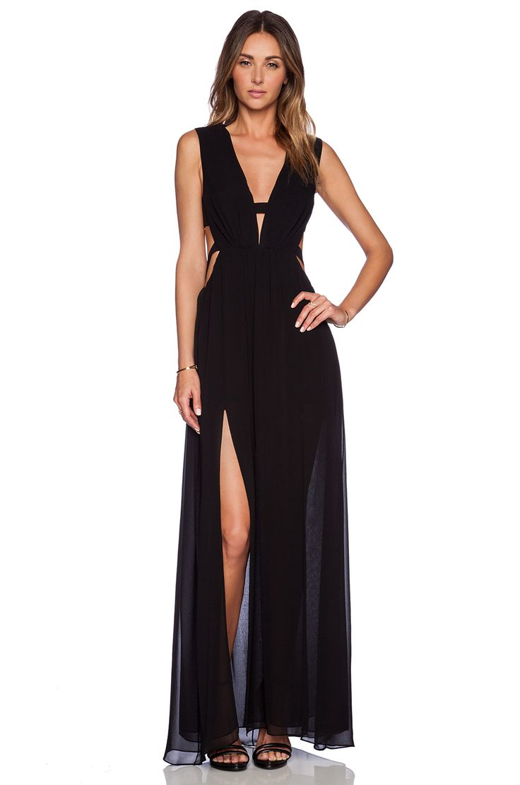 BCBGMAXAZRIA Alda Dress in Black | COLOR ME : B&W in 2019 ...
