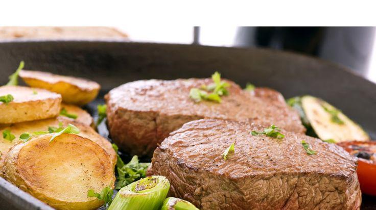Tournedos de bœuf sauté. #recette #tournedos #facile