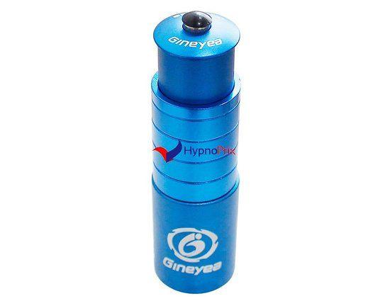 """Adaptateur potence vélo en alliage d'aluminium 1-1/8 """"Essor 117mm (Bleu)"""