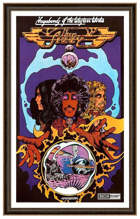 Thin Lizzy Vagabonds Of The Western World by JimFitzPatrickArtist