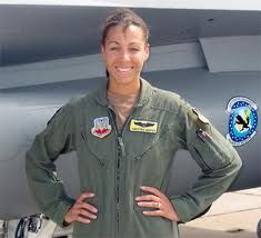 """One could also mention the Captain Christina """"Thumper"""" Hopper is the first and only black woman instructor pilot on the F-16 Falcon to Luke Air Force Base in Arizona. It is also the first black woman to participate in a major war. Daughter of a couple of drivers but also the wife of a fighter pilot, which may also explain his taste for the business in which it owns 50 combat missions over the no-fly zone in southern Iraq which was the base deployment in Kuwait in 2002."""