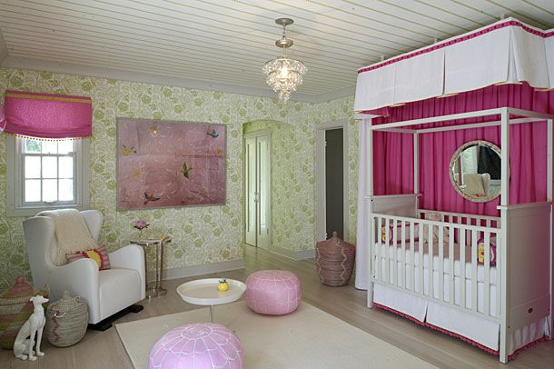 The nursery in DC Design House 2012 - we contributed the Monte glider on the left!