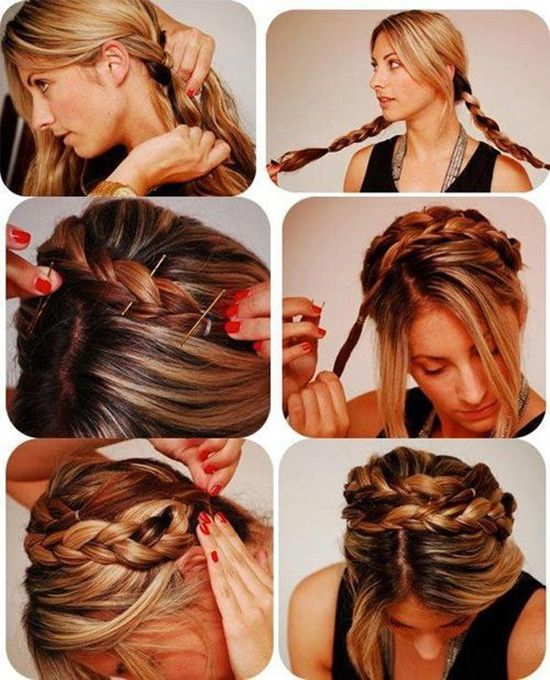 Phenomenal 1000 Images About Spring Hairstyles On Pinterest Spring Short Hairstyles Gunalazisus