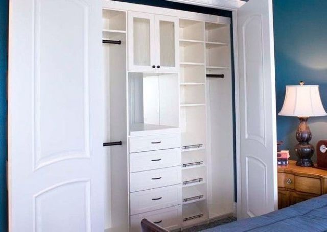 55 best reach in closet organizers images on pinterest - Storage solutions for small closets ...