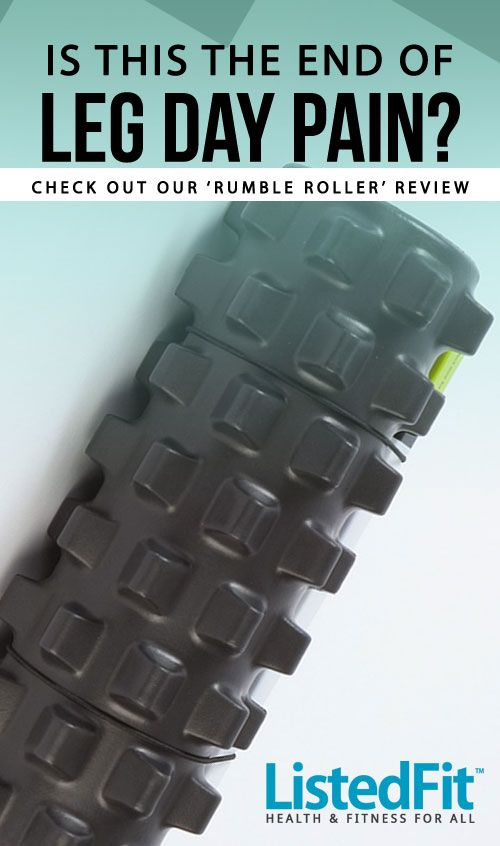 NO MORE LEG DAY PAIN? - Many avoid leg day because of the pain, but will this advanced rumble roller do the trick? -  http://listedfit.com/post-leg-day-pain-relief-the-rumble-roller-review.html #leg-day #fitfam #foam #roller #squatlife