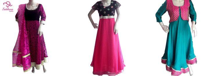 Designer Churidar SatthwaOutfits #churidar #designerdress