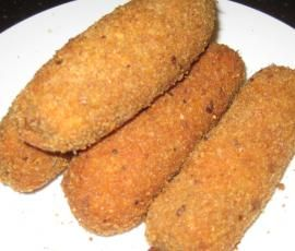 Recipe Dutch Croquettes (kroket / bitterballen) by Carola Cocacola - Recipe of category Main dishes - meat