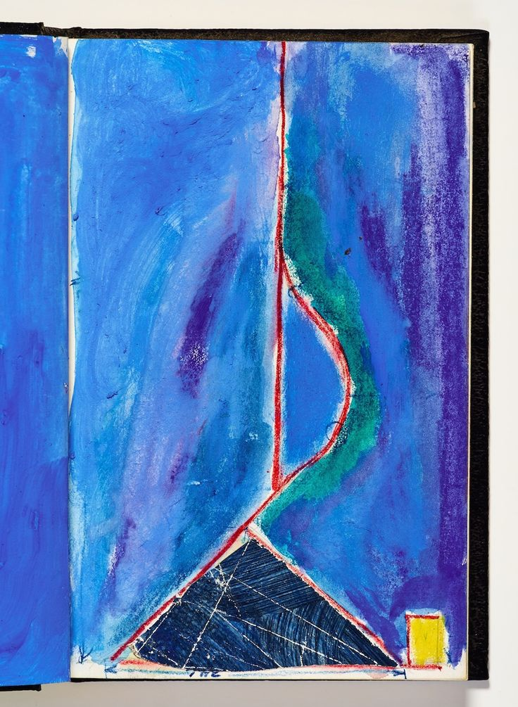 Bay Area artist Richard Diebenkorn kept sketchbooks for his entire career; they served as a sort of nomadic studio where he experimented with visuals that bridged figurative and abstract ideas.