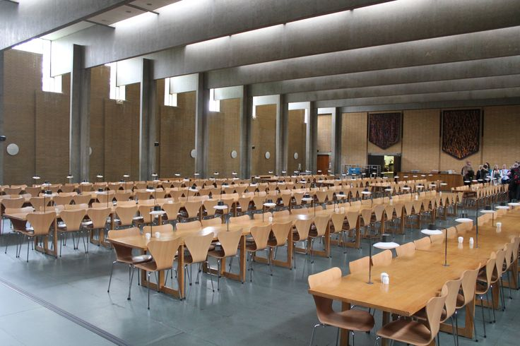 St Catherine's College, Oxford UK (1963-64) | Arne Jacobsen