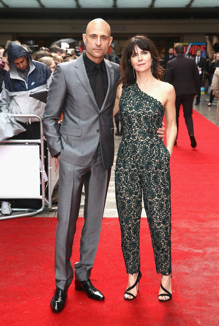 Pin for Later: See All the Red Carpet Action at the Jameson Empire Film Awards Mark Strong and Liza Marshall