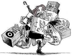 (Consumismo) Black Monday y otras campañas que alentan hacia el consumismo, nos vuelven sumisos a la materia. Tener más es una filosofía de vida. Aprendamos a obtener la felicidad en pequeños detalles alejados de los productos materiales. Lo que importa es lo cualitativo y no lo cuantitativo, aunque la sociedad se esfuerce en demasía, en inculcarnos lo contrario.