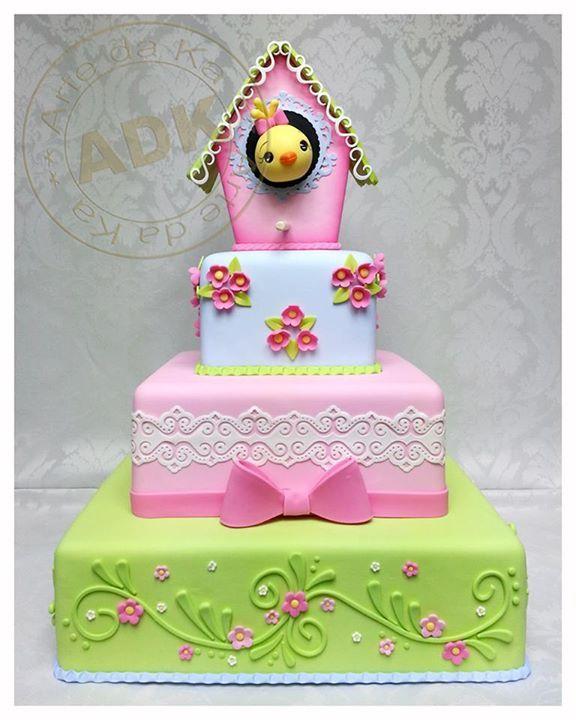 Cuckoo Clock Cake