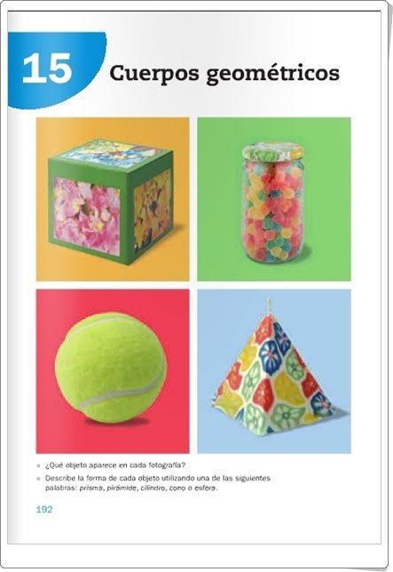 """Unidad 15 de Matemáticas de 3º de Primaria: """"Cuerpos geométricos"""""""