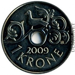 Norwegian Money: 1 krone NOK (or crown)  is worth about .18 cents American currency.