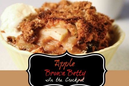 ... slow cooked apple brown betty recipe yummly and slow cooker apple