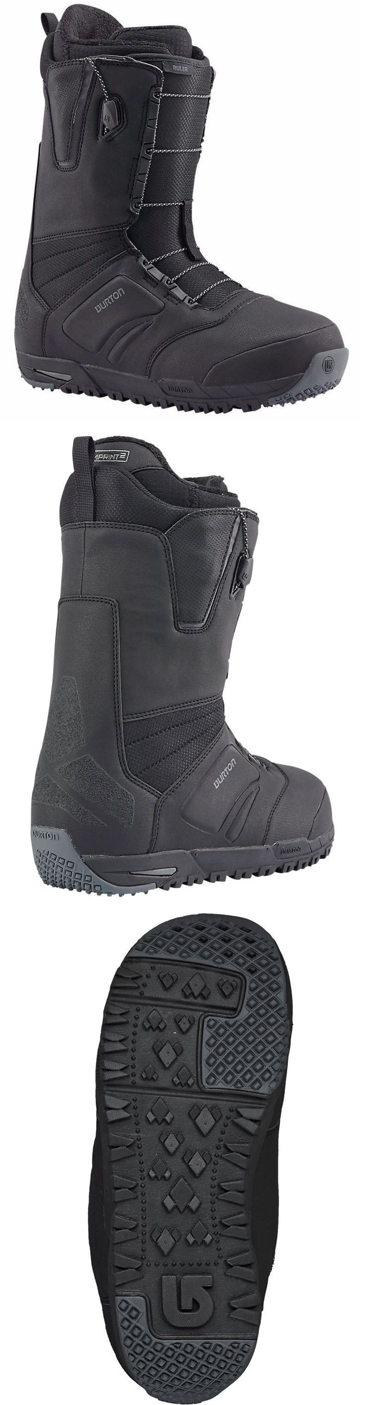 Boots 36292: Burton - Ruler   2017 - Mens Snowboard Boots - New   Black -> BUY IT NOW ONLY: $179.95 on eBay!