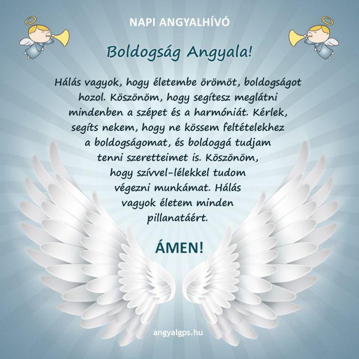 Boldogság Angyala- OSZD MEG és a te lelkedbe is elhozza a boldogságot, a szeretetet! - Pozitívan