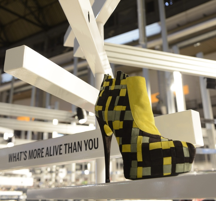 500 Pixel, a preview of the F/W_13.14 collection of WHAT'S MORE ALIVE THAN YOU™ presented at SUPER Fair_2013