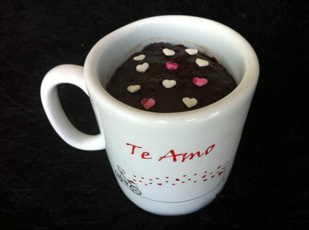 Microwave Chocolate Mug Brownie. Less than 2 minutes to a rich yummy warm brownie! I use almond flour in place of the regular flour. Printable recipe.