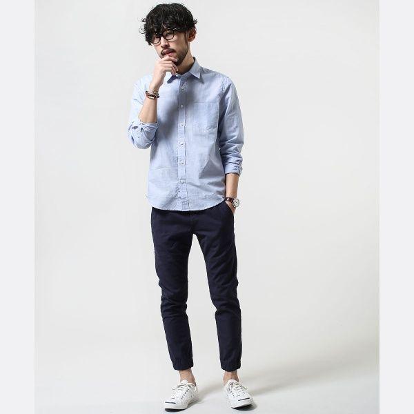FLANDERS LINENシャツLS | ナノ・ユニバース ザ ファーストフロアーM(nanouniverse The1st.Floor) | ファッション通販 マルイウェブチャネル[TO912-253-37-01]