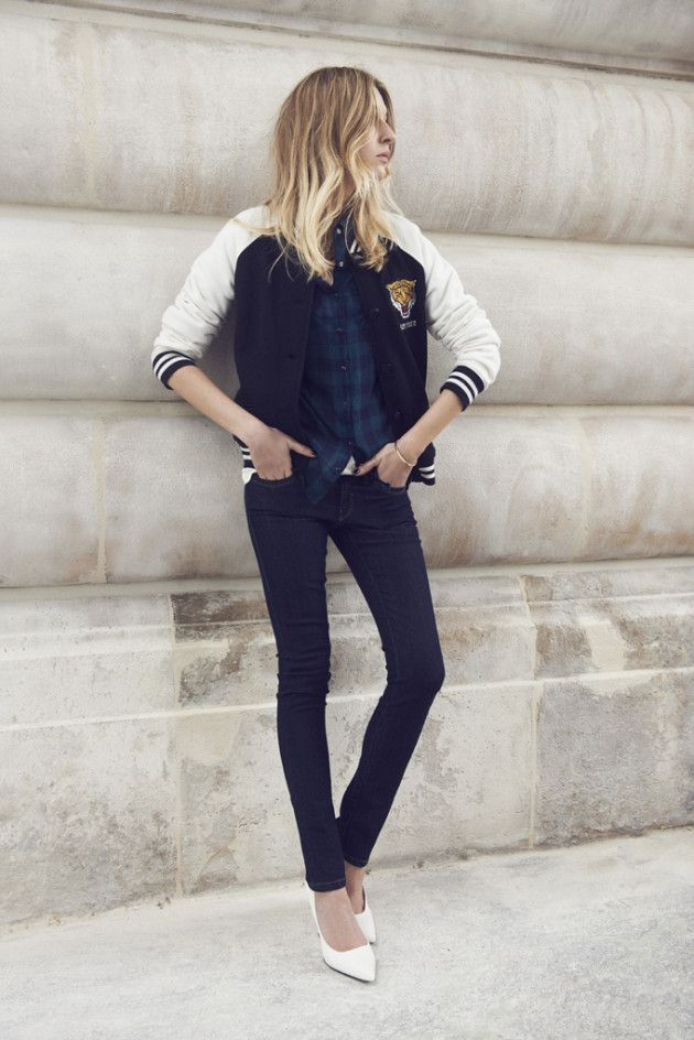 The 23 best Varsity Jackets images on Pinterest  137fd801e