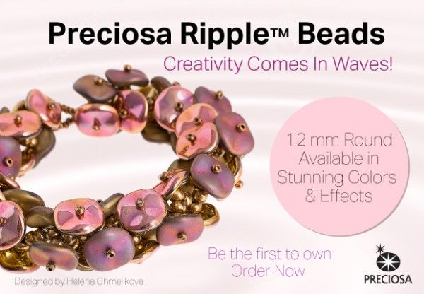Preciosa Ripple Beads