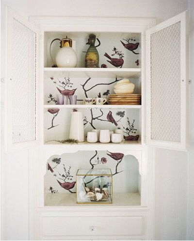 Forrar muebles con papel pintado muebles pinterest - Papel pintado autoadhesivo para muebles ...