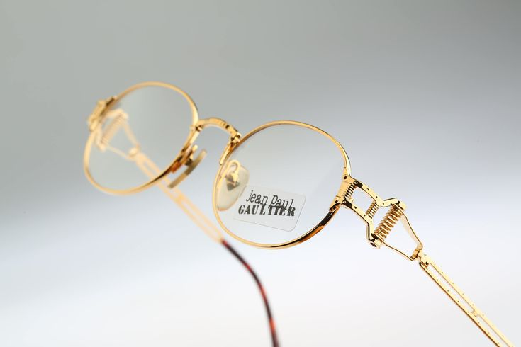 Jean Paul Gaultier 55-5110 / vintage eyeglasses and sunglasses / NOS / 90's rare and unique by CarettaVintage on Etsy