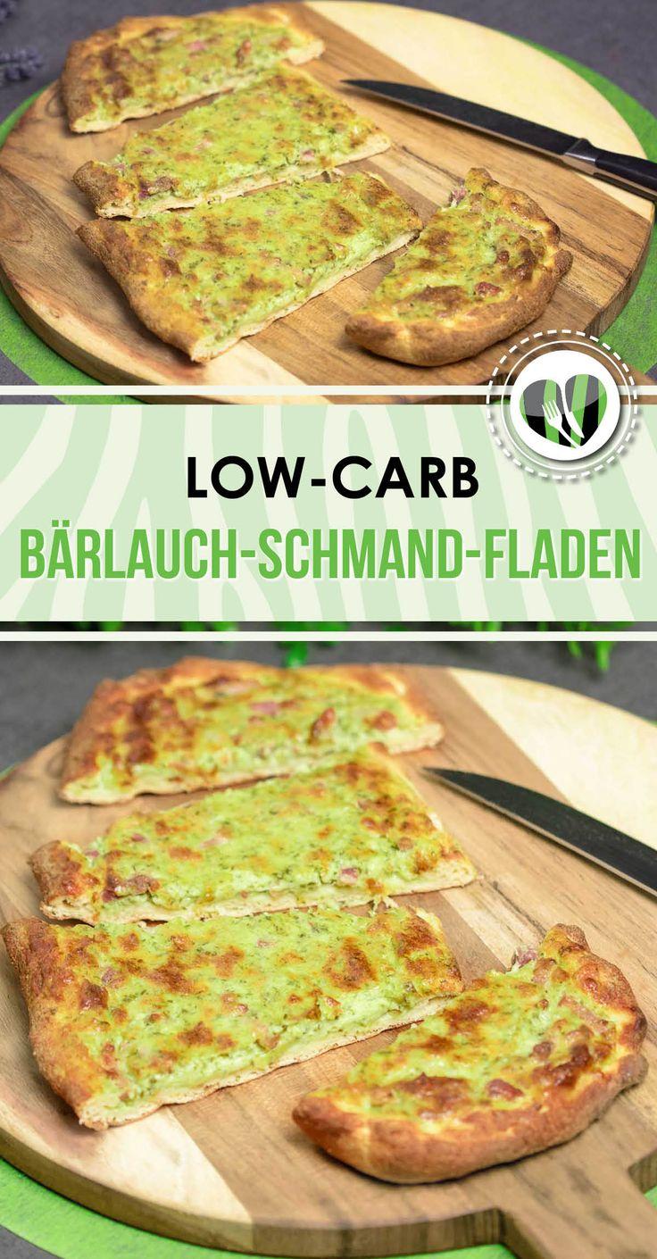 Die Bärlauch-Schmand-Fladen sind lecker, lowcarb und auch noch glutenfrei.