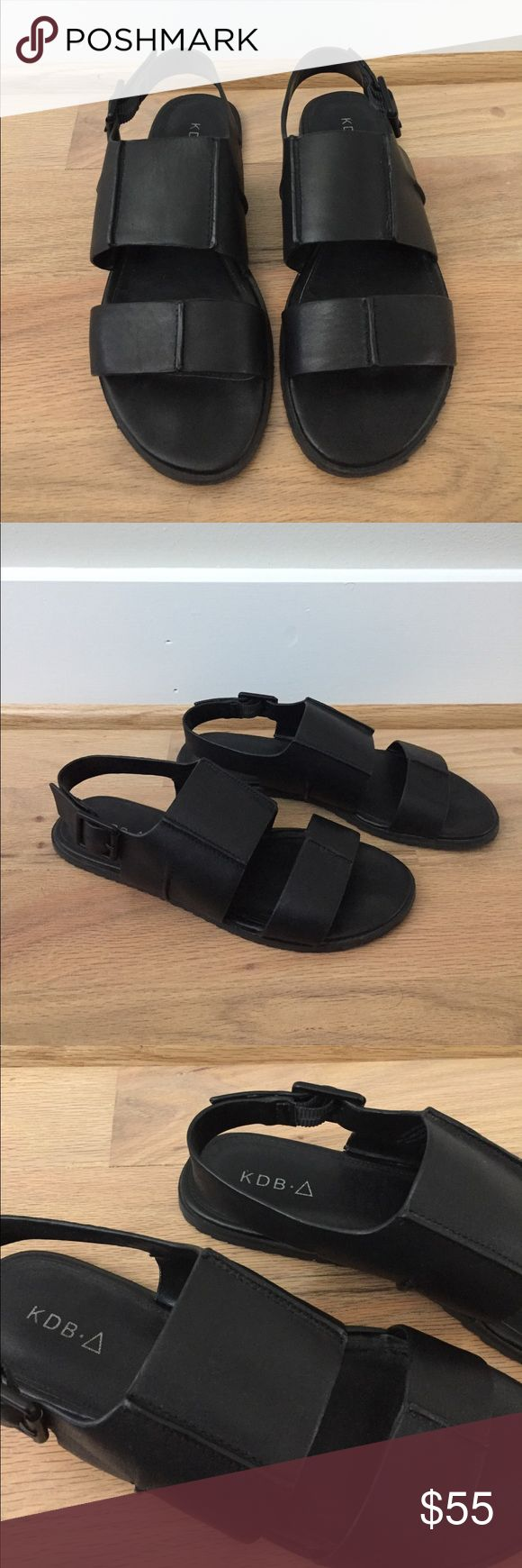 Kelsi Dagger Brooklyn Sandals These sling back flat sandals from Kelsi Dagger are the epitome of cool! True to size, goes with skinny jeans or even dresses, only worn a couple of times. Will also accept best offers. Kelsi Dagger Shoes Sandals