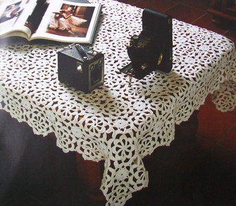 Haakpatroon tafelkleed -Het Kleine Winkeltje