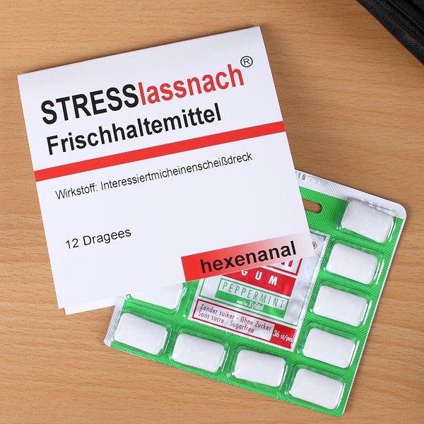 Kaugummi | Kaugummi Frischhaltemittel - Stresslassnach