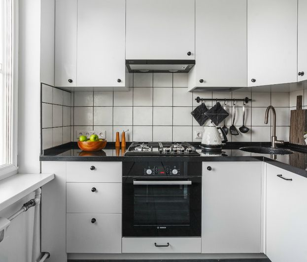 Как создать интерьер  с обложки: маленькая кухня в скандинавском стиле