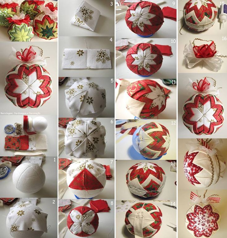 1000+ ideas sobre Adornos De Navidad De Tela en Pinterest ...