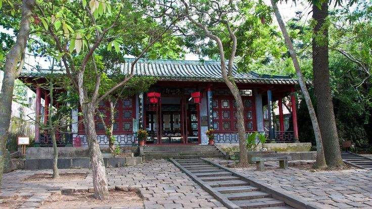 The Five Officials Memorial Temple in Haikou, Hainan, China