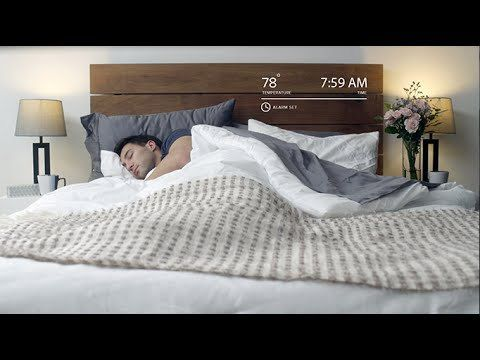 Luna, A Mattress Cover That Tracks Sleeping Habits and Automatically Adjusts the Bed Temperature