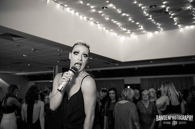 Drag queen CC Quin. Very talented and funny. Nice guy too. #dragqueen #charityevent #singer #charityball #ladiesnight #lancasterphotographer #eventphotography #morecambe #globearena #morecambephotographer #prestonphotographer #liverpoolphotographer #southportphotographer #lancashire