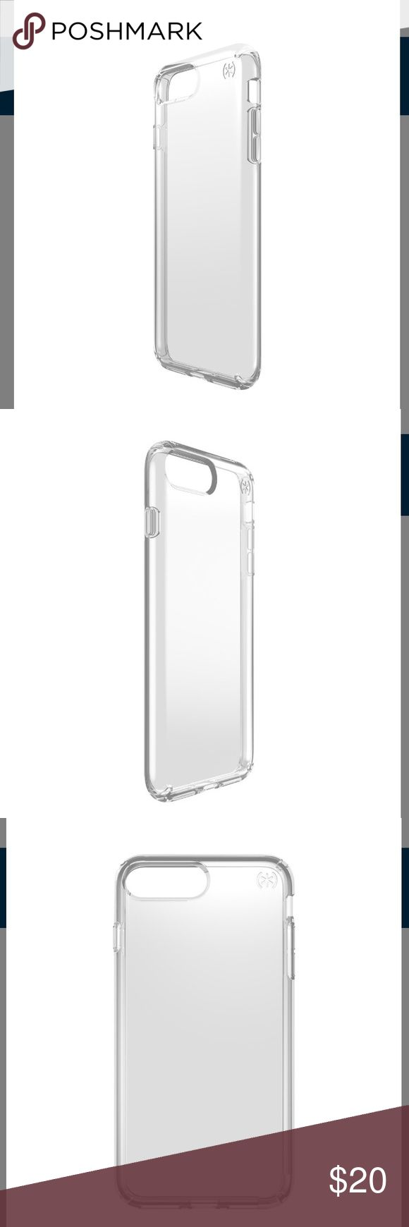 Speck Presidio Clear iPhone 7 Plus Case New in box. Speck Presidio Clear iPhone 7 Plus Case. Clear - no color. Speck Accessories Phone Cases