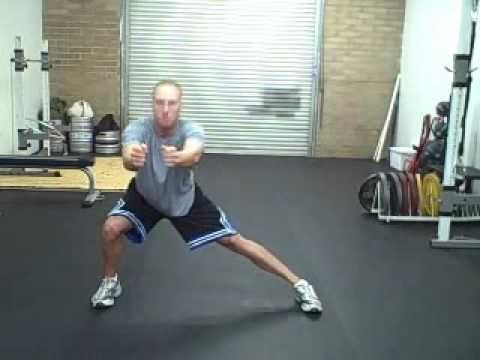 Lateral Lunge / Lateral Squat / Side Lunge / Side Squat
