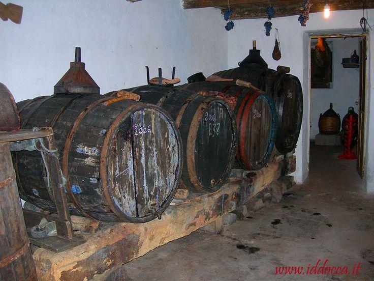 Una vecchia cantina a Meana Sardo