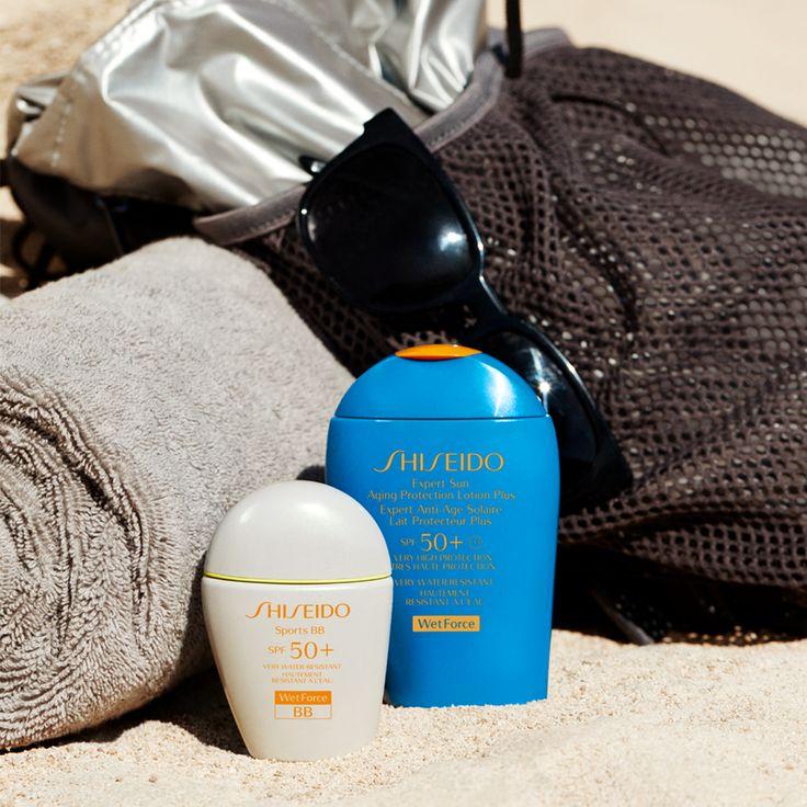 In spiaggia, mentre ti alleni o durante qualsiasi attività all'aria aperta prenditi cura della tua bellezza con Sports BB e Expert Sun! #sharebeauty #wetforce