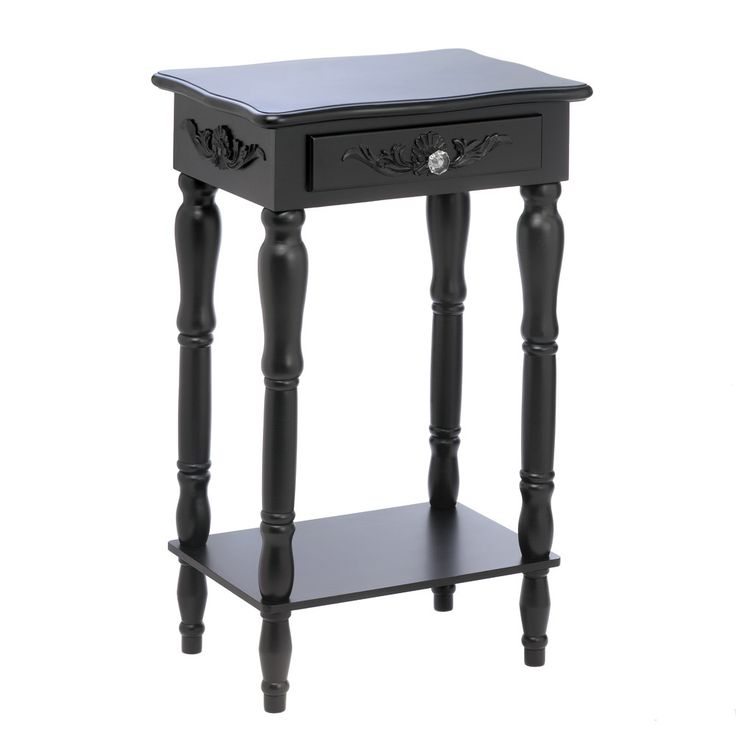 Carved Black Side Table | Accent 19 | Pinterest | Furniture, Table And Black  Side Table