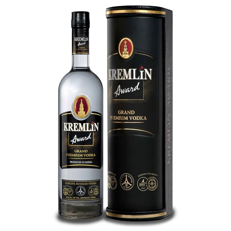 remlin Award Grand Premium Vodka